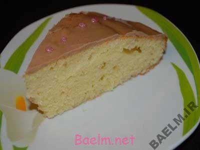 آموزش پخت کیک | طرز تهیه کیک پرتقالی با روکش شکلاتی