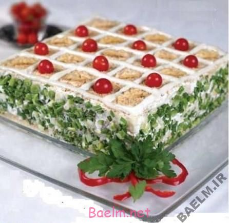 آموزش پخت کیک   طرز تهیه کیک گردو و مرغ