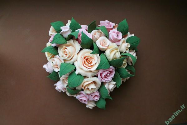 هنر خانه داري | آموزش ساخت گل رز با استفاده از خمير چيني