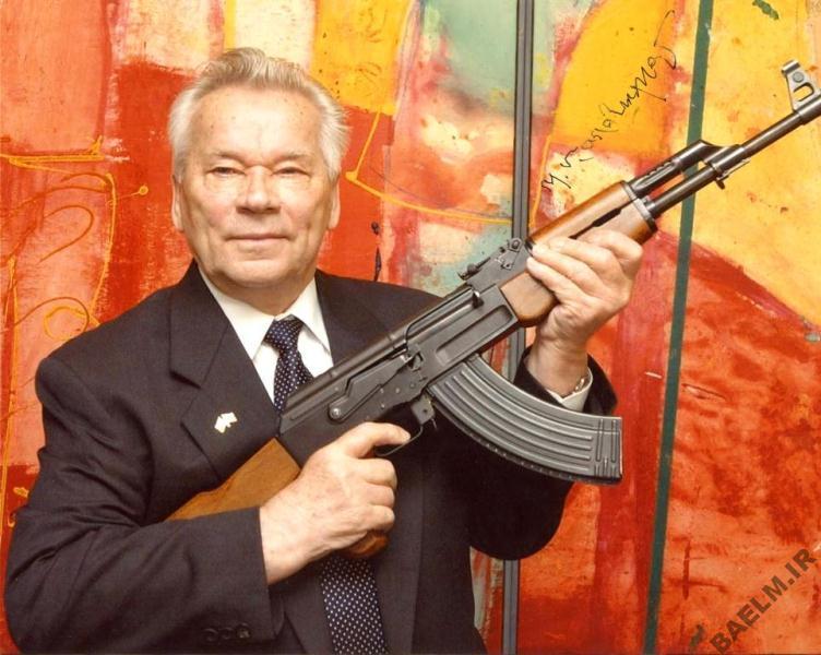زندگینامه   بيوگرافي میخائیل کلاشنیکوف سازنده تفنگ کلاشنیکوف