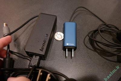 سخت افزار |  معرفی کوچکترین شارژر لپ تاپ دنیا در CES 2014