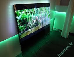 علم و فناوری | تلوزیون بسیار جالبی که در خاموشی نامرئی میشود!!!