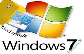 نرم افزار | نحو ه ی فعال سازی  Godmode در ویندوز 7