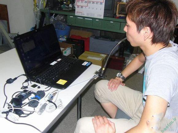 سخت افزار | ساخت موس کامپیوتری که با نفس کار میکند