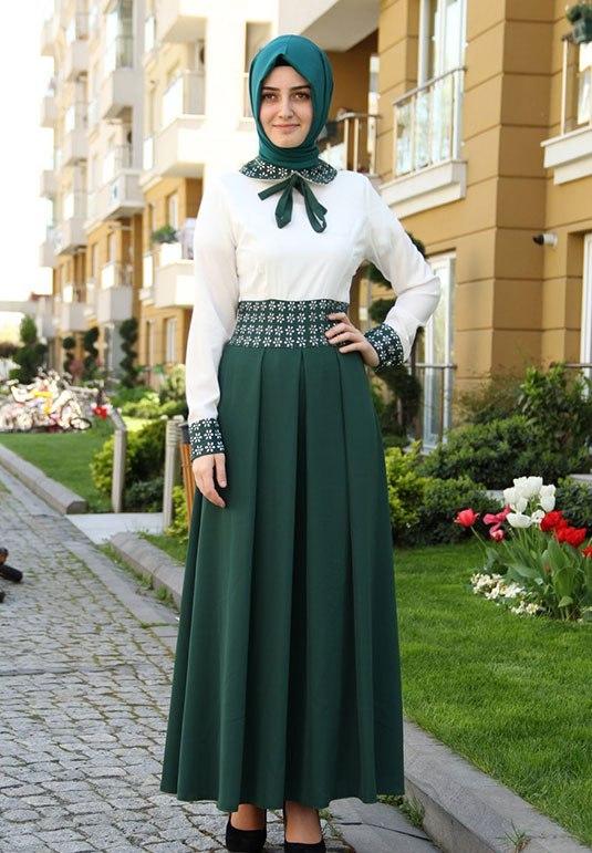 مدل لباس شب پوشیده ترکیه ای
