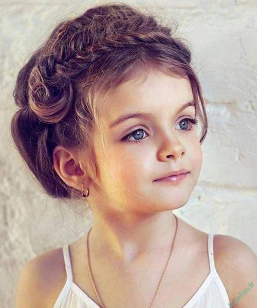 مدل هاي زيبا از آرايش, شينيون موي دخترانه ,مدل بستن موی دختر بچه ها,مدل مو,مدل مو دخترانه, مدل آرايش موی دخترانه