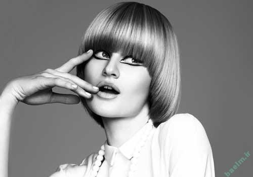 آرايش و زيبايي | مدل هاي آرايش موي صاف و لخت