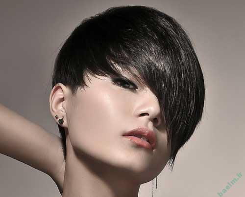 آرایش و زیبایی | مدل های آرایش موی صاف و لخت جدید 93