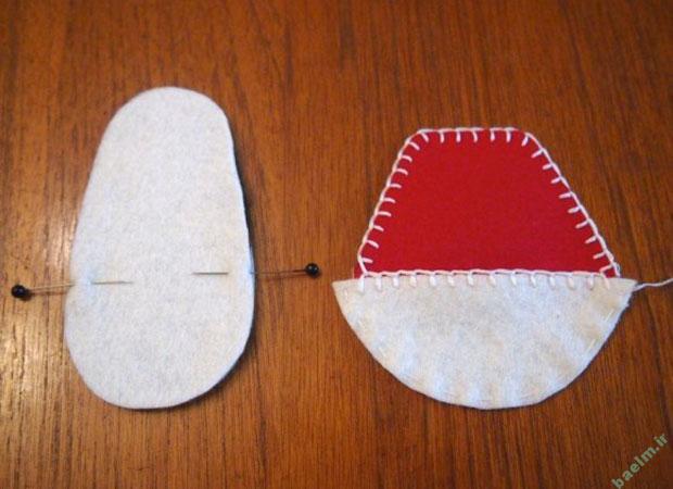 کفش ایمنی | کفش بچه گانه نمدی - کفش ایمنیخياطي | آموزش دوخت كفش كوچولوي بچه گانه با الگو + تصوير قدم به قدم .