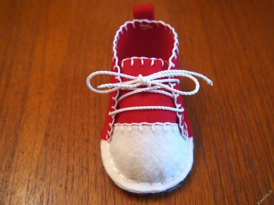 خياطي | آموزش دوخت كفش كوچولوي بچه گانه با الگو + تصوير قدم به قدم ...خياطي | آموزش دوخت كفش كوچولوي بچه گانه با الگو + تصوير قدم به قدم • خياطي  و عروسك سازي ، الگوی خیاطی ، آموزش • همراه با علم