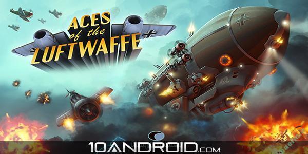 دانلود بازي اندرويد | بازی هواپیمایی Aces of the Luftwaffe v1.3.6