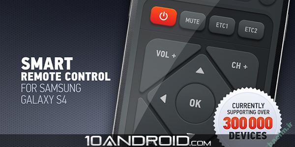برنامه اندرويد | نرم افزار کنترل تلویزیون Smart IR Remote – AnyMote v1.8.9