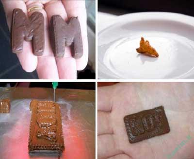 علم و فناوری | پرینتر سه بعدی مواد غذایی