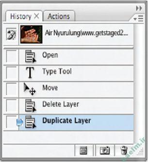 آموزش فتوشاپ | نحوه ی بازگشت به عقب در Photoshop