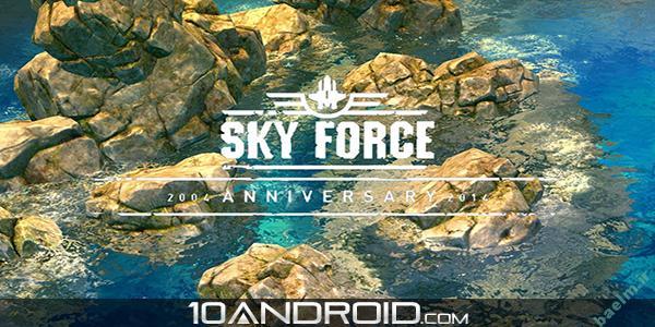 دانلود بازي اندرويد | Sky Force 2014 | نسخه مود شده (اندروید ۲٫۳ ) + نسخه معمولی