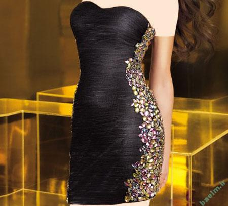 مد و زیبایی   مدل های زیبا و شیک لباس شب زنانه سری جدید