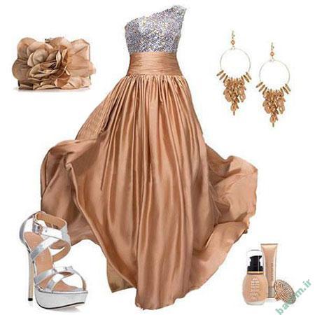 مدل لباس شب 2014,ست لباس شب
