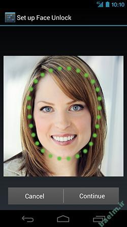 موبایل | فعال کردن قابلیت Face Unlock در گوشی اندروید 4