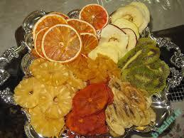تغذیه   آشنایی با ارزش غذایی میوه های تازه و میوه های خشک