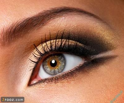 257833 835 نکاتی در مورد آرایش چشم در منزل