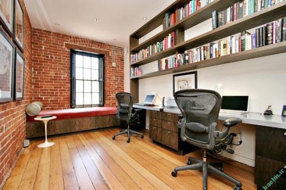 مد و دكوراسيون | دكوراسيون زيبا و شيك دفتر كار خانگي