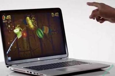 لپ تاپ | آشنایی  با لپ تاپی که با حرکت دست کنترل می شود