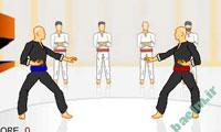 بازي آنلاين فلش | بازی کاراته کار-Karate + لينك دانلود بازي