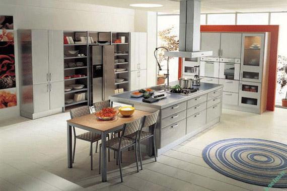 30 مدل آشپزخانه اپن برای لمس زندگی مدرن