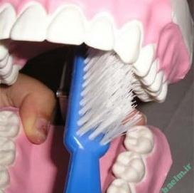 دهان و دندان | بهترين و اصولي ترين روش بري مسواك زدن