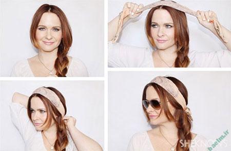 آموزش بستن روسری, شیک ترین مدل بستن روسری