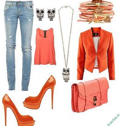 مد و زيبايي | راهنماي ست كردن لباس به رنگ نارنجي