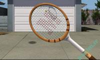 بازي آنلاين فلش | تنیس در حیاط-Tennis in the yard