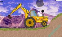 بازي آنلاين فلش | صعود تراکتور-Climbing Tractor + لينك دانلود بازي