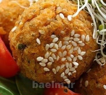 آموزش آشپزی   طرز تهیه فلافل مرغ (بسیار ساده)