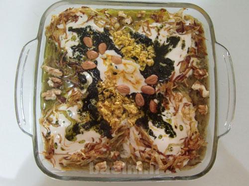 طرز تهیه انواع غذا با بادمجان, طرز تهیه انواع غذا, انواع غذا