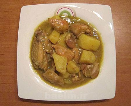 آموزش آشپزی | طرز تهیه خورش کاری مرغ ( غذای هندوستان )