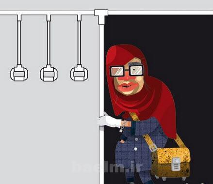 عکس جنجالی از دختران ایرانی ... نبینی ضرر کردیا
