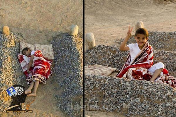 عکس کودک یتیم