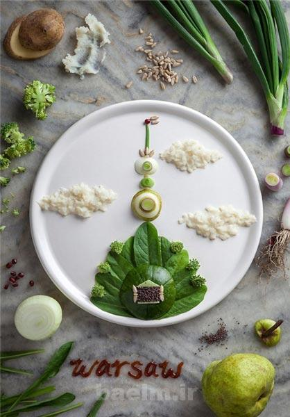 دیدنیها | تزئینات با مواد غذایی به شکل های بسیار زیبا