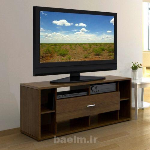 عکس های شیک و زیبای مدل میز و دکوراسیون تلویزیون LED و LCD