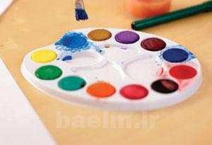 راههایی برای آموزش ساده برای یادگیری رنگ آمیزی کودکان