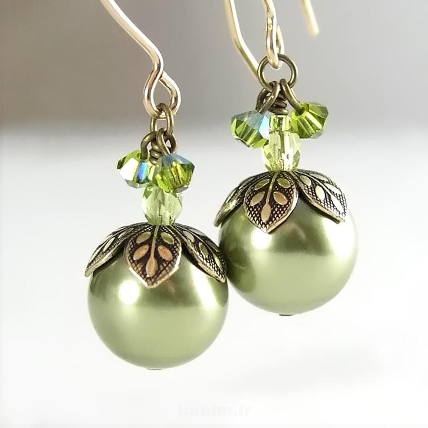 beautiful pearl earrings 16 Beautiful Pearl Earrings