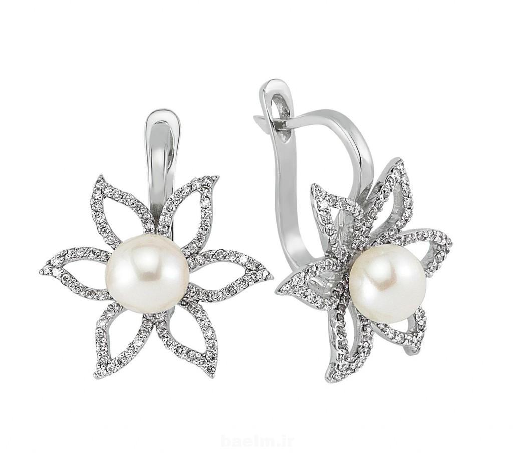 beautiful pearl earrings 4 1024x916 Beautiful Pearl Earrings