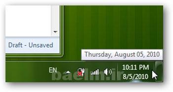 ویندوز | ترفند نمایش روز هفته در نوار Taskbar