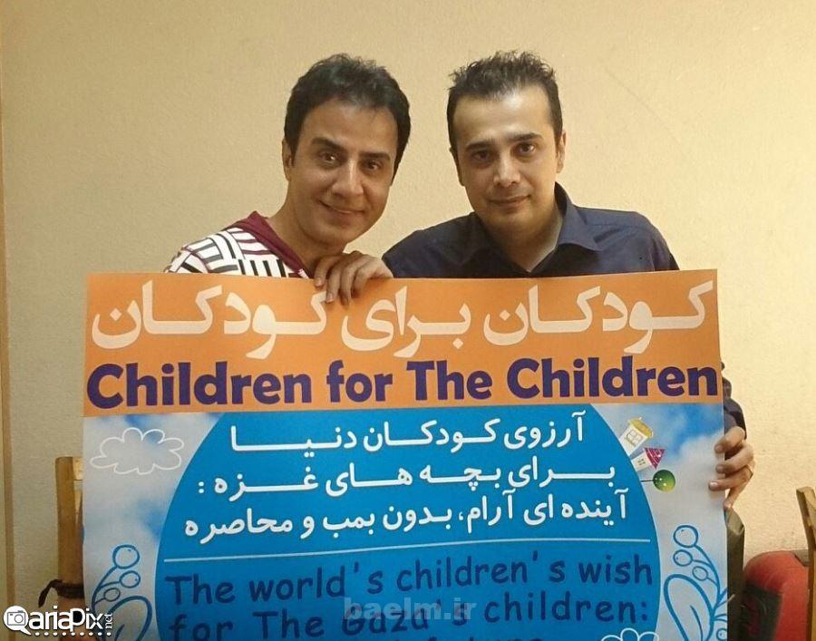 عکس کودکان غزه