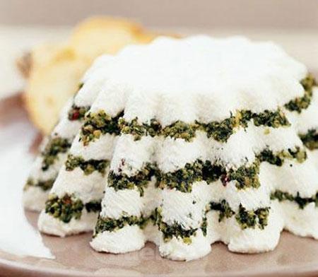 کیک ماست با سبزیجات,طرز تهیه کیک ماست