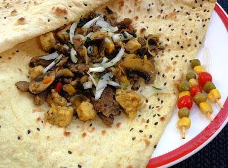 آشپزي | طرز تهيه كباب بختياري در تابه