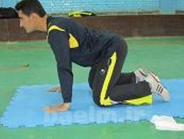 کاهش گودی کمر,حرکات ورزشی برای گودی کمر,حرکات اصلاحی گودی کمر