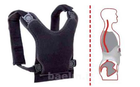 قوز پشت,حرکت های ورزشی برای درمان قوز پشت,درمان قوز پشت