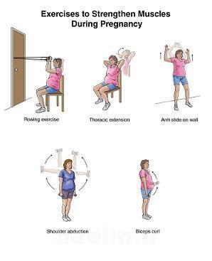 ورزش | حركات ورزشي مناسب براي بهبود كمر دردهاي بارداري